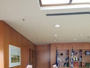 Φωτογραφία για Θανάσης Καββαδάς: «Θετικός ο Υπουργός Περιβάλλοντος κ.Κωνσταντίνος Σκρέκας στη χρηματοδότηση του αποχετευτικού δικτύου  Νικιάνας, Λυγιάς, Καρυωτών και Βαθέως Μεγανησίου»