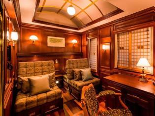 Φωτογραφία για Seven Stars Kyushu: Ταξίδι με το πιο πολυτελές τρένο του κόσμου. Εικόνες.
