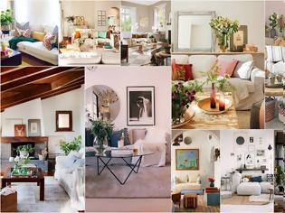 Φωτογραφία για 40+ Διαφορετικά σαλόνια - καθιστικά με λευκούς καναπέδες