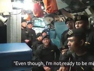 Φωτογραφία για Ινδονησία: ανατριχιαστικό βίντεο λίγες ημέρες πριν ταξιδέψει το μοιραίο υποβρύχιο (Video)