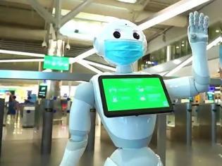 Φωτογραφία για Pepper: Το ρομπότ που «ζει» και στην Ελλάδα το πρώτο που… μιλά φωναχτά