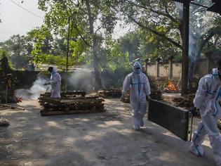 Φωτογραφία για Κοροναϊός - Ινδία: Τραγικό ημερήσιο ρεκόρ σε θανάτους