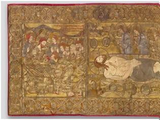 Φωτογραφία για Επιτάφιος χρυσοκέντητος-14ος αιώνας