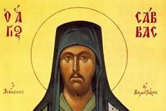 Ο Άγιος Σάββας ο Βηματάρης