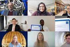 Υποστήριξη ταλαντούχων υποψήφιων διδακτόρων από το πείραμα ATLAS CERN
