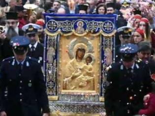 Φωτογραφία για Τρίτη της Διακαινησίμου: Σύναξις της Παναγίας της Βηματάρισσας