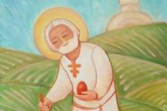 Δεν μας επιτρέπεται να μελαγχολούμε. Ο Χριστός νίκησε τα πάντα! Ανάστησε τον Αδάμ! Ελευθέρωσε την Εύα! Θανάτωσε τον θάνατο!(Άγ.Σεραφείμ Σαρώφ)