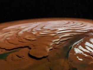 Φωτογραφία για Πλανήτης Άρης: Βρέθηκαν «κύματα» παγετώνων σε πεδινό έδαφος