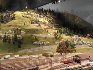 Φωτογραφία για Η πιο ακριβή σιδηροδρομική μοντελοποίηση στον κόσμο  είναι το σιδηροδρομικό μουσείο Kaeserberg.
