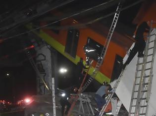 Φωτογραφία για Μεξικό: Κατέρευσε γέφυρα του Μετρό πάνω σε δρόμο - @0 νεκροί και δεκάδες τραυματίες