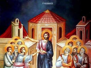 Φωτογραφία για Η ιερουργία της ψηλάφησης και της Θείας Ευχαριστίας.