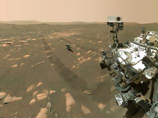 Φωτογραφία για Διάστημα: Την πέμπτη του πτήση στον πλανήτη Άρη πραγματοποίησε το «Ingenuity»