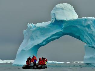 Φωτογραφία για Αντρακτικη: Το λιώσιμο των πάγων θα προκαλέσει κύματα μετανάστευσης λόγω του αλατούχου εδάφους