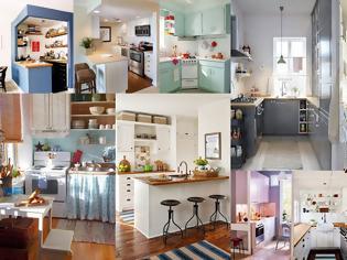Φωτογραφία για Διαμορφώσεις - σχεδιασμός για Μικρές Κουζίνες