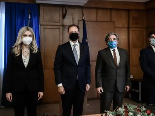 Φωτογραφία για Νέοι δρόμοι συνεργασίας Ελλάδας και Πορτογαλίας στον τομέα ιχθυοκαλλιεργειών και ιχθυηρών, μετά από τη συνάντηση Λιβανού - Santos