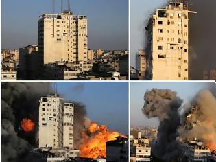 Φωτογραφία για Κόλαση σε Ισραήλ, Γάζα: Αδιάκοποι βομβαρδισμοί και ρουκέτες