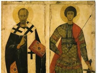 Φωτογραφία για Άγιος Νικόλαος και Άγιος Γεώργιος ο Τροπαιοφόρος(16ος αιώνας)