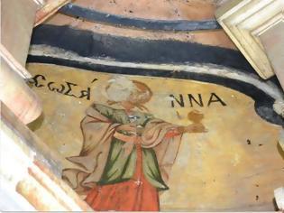 Φωτογραφία για Οι αγιογραφίες της Θεοτόκου και των Αγίων Μυροφόρων γυναικών εντός του κουβουκλίου του Παναγίου Τάφου