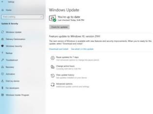 Φωτογραφία για Windows 10 May 2021 update: Μόλις έγινε διαθέσιμo σε όλους!