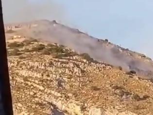 Φωτογραφία για Φωτιά στη Σαλαμίνα