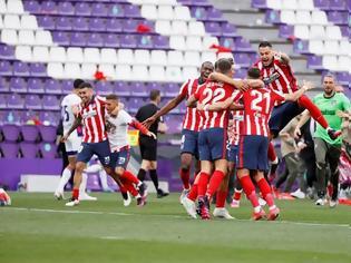 Φωτογραφία για Ο Σουάρες ολοκλήρωσε το έπος: Πρωταθλήτρια Ισπανίας η Ατλέτικο Μαδρίτης!