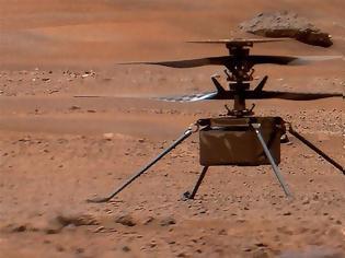 Φωτογραφία για Ingenuity: Πρόβλημα κατά την πτήση έθεσε σε κίνδυνο το σκάφος