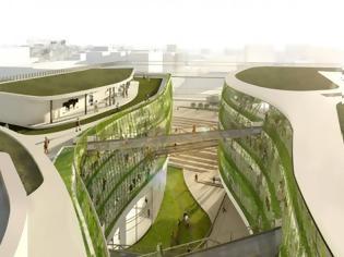 Φωτογραφία για Αυτό είναι το βιοκλιματικό κτίριο που θα στεγάσει όλες τις υπηρεσίες της ΓΓ Υποδομών.