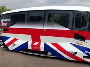 Φωτογραφία για ΕΠΙΤΕΛΟΥΣ στον δρόμο τα πρώτα αυτόνομα λεωφορεία στην Βρετανία