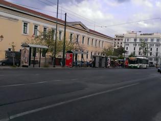 Φωτογραφία για Ποιοι χώροι θα καταληφθούν για τους νέους σταθμούς του μετρό «Ακαδημία» και «Δικαστήρια».