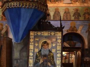Φωτογραφία για Η εικόνα του Αγίου Γαβριήλ του Ομολογητού και δια Χριστόν Σαλού στην Μονή Bachkovo της Βουλγαρίας