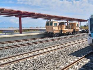 Φωτογραφία για Να επαναλειτουργήσει άμεσα η σιδηροδρομική γραμμή Κιάτο-Αίγιο, ζητά από ΟΣΕ και ΤΡΑΙΝΟΣΕ ο Δήμαρχος Αιγιαλείας.