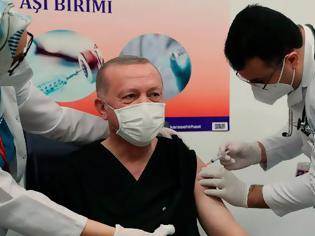 Φωτογραφία για Κοροναϊός - Τουρκία: Σάλος κατά Ερντογάν γιατί έκανε τρίτη δόση του εμβολίου