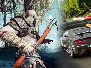 Φωτογραφία για Επίσημο: Και στο PS4 το νέο God of War και το Gran Turismo 7