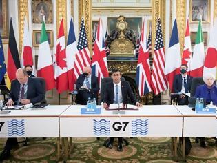 Φωτογραφία για Iστορική συμφωνία της G7 για τον πρώτο Παγκόσμιο Εταιρικό Φόρο