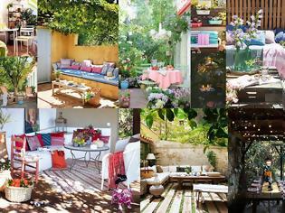 Φωτογραφία για Καλοκαιρινές διαμορφώσεις για  Κήπο - Μπαλκόνι