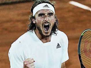 Φωτογραφία για Τσιτσιπάς - Ζβέρεφ 3-2: Έλληνας Θεός στον τελικό του Roland Garros
