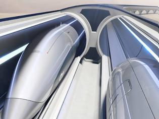 Φωτογραφία για Το Hyperloop είναι το τρένο - τεχνολογικό «θαύμα» της Ιταλίας.