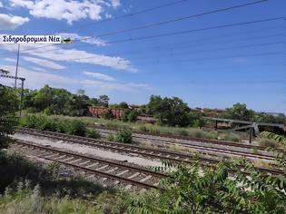 Φωτογραφία για Εικόνες από τον σιδηροδρομικό σταθμό κάτω Διαλογής Θεσσαλονίκης.