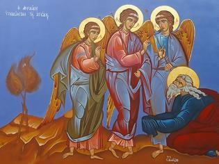 Φωτογραφία για Η ΕΙΚΟΝΑ ΤΗΣ ΦΙΛΟΞΕΝΙΑΣ ΤΟΥ ΑΒΡΑΑΜ(Είναι εικόνα της Αγίας Τριάδος;)