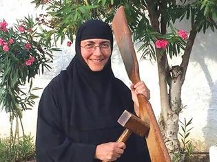 """Φωτογραφία για Γερόντισσα Σωφρονία: H """"διαδρομή"""" από τη Pόδο στην Γυναικεία Κοινοβιακή Μονή Αγίας Τριάδας"""