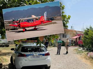 Φωτογραφία για Μονοκινητήριο αεροσκάφος έπεσε στο χωριό Χαριά στην Ηλεία