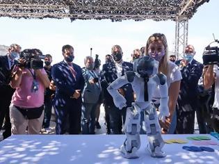 Φωτογραφία για Το ρομπότ που μας προτρέπει να ζούμε «πράσινα»-ROBOT go green world
