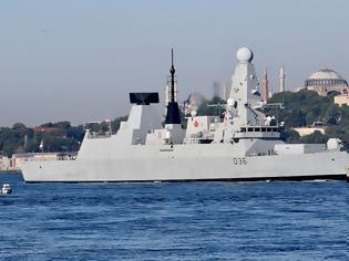 Φωτογραφία για Μαύρη θάλασσα: Προειδοποιητικά πυρά κατά βρετανικού σκάφους από ρωσικό