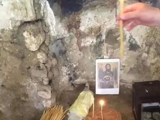 Φωτογραφία για Το σημείο στο υπόγειο του παλατιού που  φυλακίστηκε και αποκεφαλίστηκε ο Άγιος Ιωάννης ο Πρόδρομος στην Σεβάστεια (φωτογραφία)