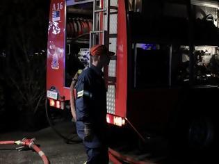 Φωτογραφία για Θεσσαλονίκη: Φωτιά στη Χαλκηδόνα - Έκλεισαν σιδηροδρομικές γραμμές