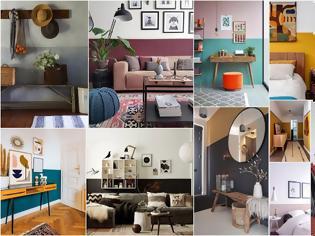Φωτογραφία για Ο πιο απλός τρόπος διακόσμησης εσωτερικών χώρων μόνο με χρώμα