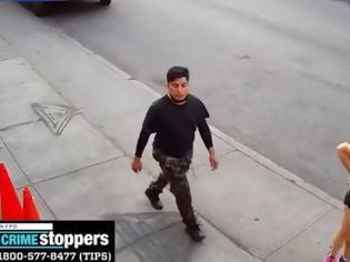 Φωτογραφία για Σοκαριστικό περιστατικό στο Μπρούκλιν - Άντρας επιτέθηκε σε 35χρονη στην μέση του δρόμου (Video)