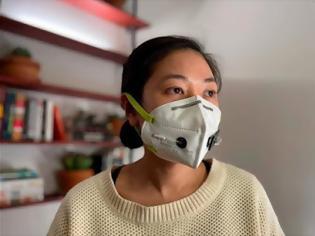 Φωτογραφία για Μάσκα προσώπου με ακριβή διάγνωση για μόλυνση από κορωνοϊό-Face mask against COVID 19
