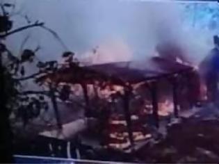 Φωτογραφία για Θαύμα στην Κύπρο με Άγιο ανάμεσα στις φλόγες