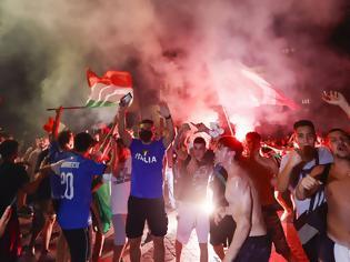 Φωτογραφία για Euro 2020: Το τρόπαιο «βάφτηκε» με αίμα - Συμβόλαιο θανάτου στους πανηγυρισμούς